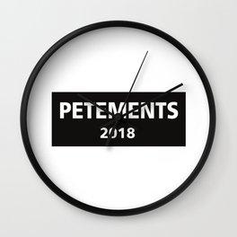 petements Wall Clock