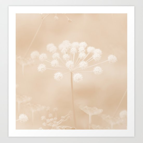Dreamy Moment in the Autumn Art Print