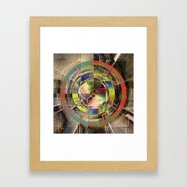 - mechanical sun - Framed Art Print