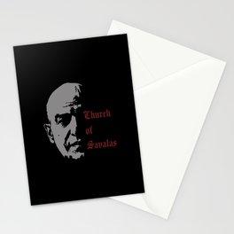 CHURCH OF SAVALAS - TRIBUTE TO TELLY SAVALAS Stationery Cards