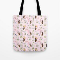 Easter Bunny Factory 12 x 12 Tote Bag
