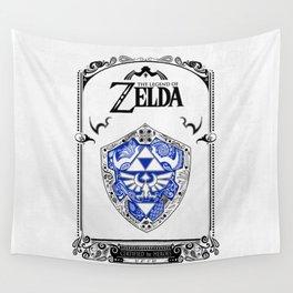 Zelda legend - Hylian shield Wall Tapestry