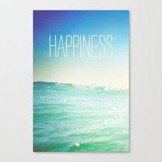 beachy happiness Canvas Print
