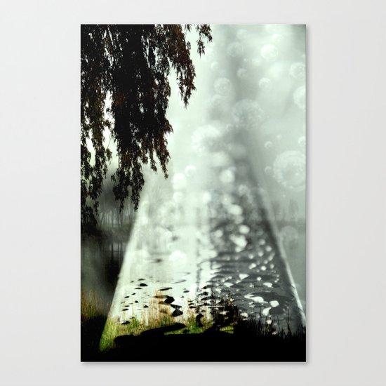 Dreamer on the Slippery Slope Canvas Print