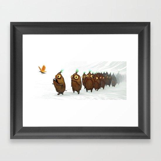 Wanderlusting Spaklets Framed Art Print