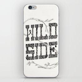 Wild side iPhone Skin