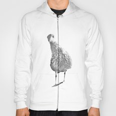 Inquisitive seagull Hoody