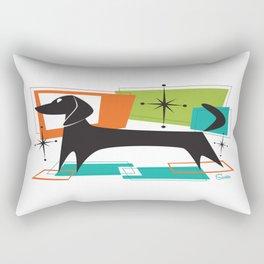 Mister Peepers Retro Mid Century Modern Design Rectangular Pillow