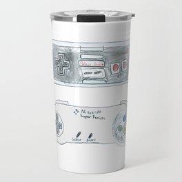 Old School Controllers Travel Mug