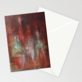 Abstract Moscow. Acrylic on canvas (Abstract art) Stationery Cards