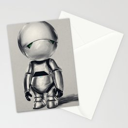 Marvin the Android Stationery Cards