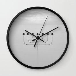 Menora Wall Clock