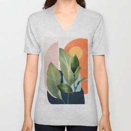 Nature Geometry VII Unisex V-Neck