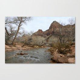 North Fork Virgin River, Zion National Park Canvas Print