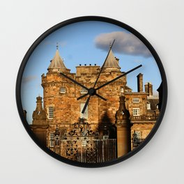 Holyrood Palace Wall Clock