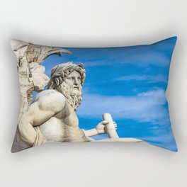 Il Gange Rectangular Pillow