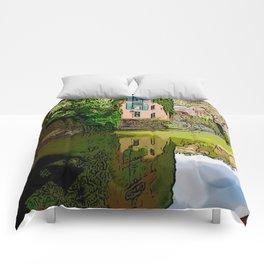 Chesapeake and Ohio Canal Comforters
