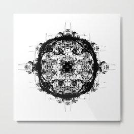 Bone Symmetry II Metal Print