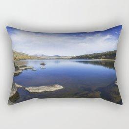 Llynnau Mymbyr Rectangular Pillow