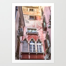 Pink Passage Art Print