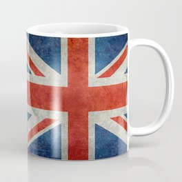 British flag of the UK, retro style Coffee Mug