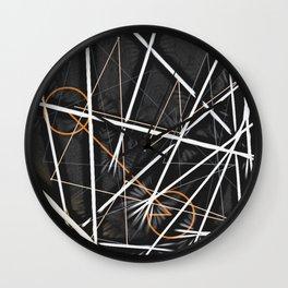 geometric interactions Wall Clock