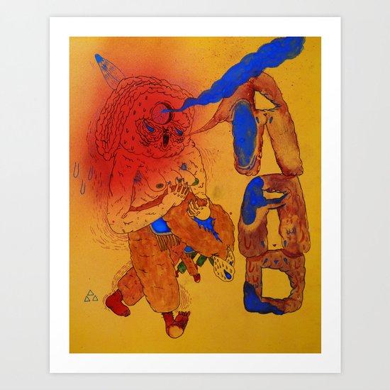 R.A.D Art Print