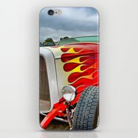 ford iPhone & iPod Skins featuring 32' Ford by Dave Johnson