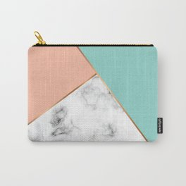 Marble Geometry 056 Carry-All Pouch