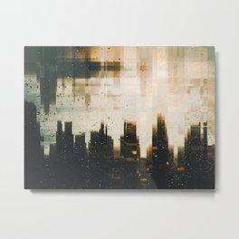 Distorted Reality Metal Print