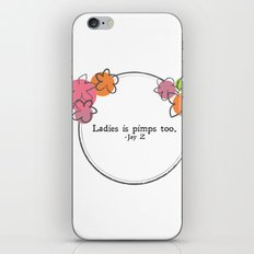 Floral - Ladies iPhone & iPod Skin