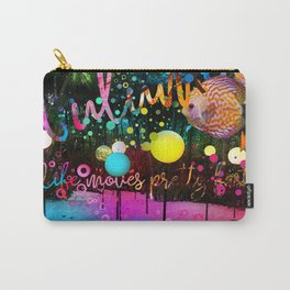 Tripping Around The Sun Carry-All Pouch