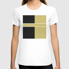 Team Color 6...black,gold T-shirt