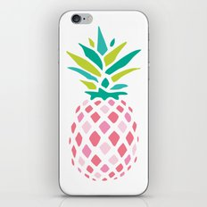 Pink Pineapple iPhone & iPod Skin