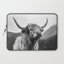 Highland Coo Laptop Sleeve