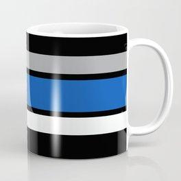 Team Colors 2...Blue,gray Coffee Mug
