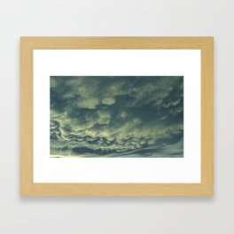 Rainstorm Framed Art Print