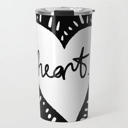 Heart. Travel Mug