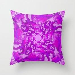 Flamingo Vector Throw Pillow