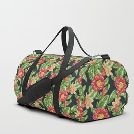 Blooming Pomegranate Branches Duffle Bag