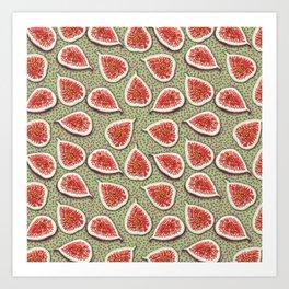 Figs Pattern Art Print