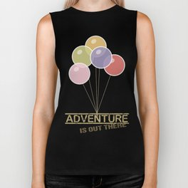 Adventure is out there - Up! Biker Tank