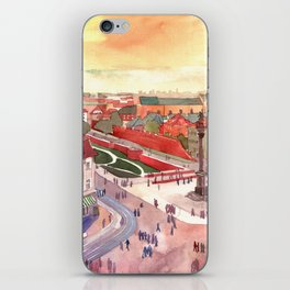 Evening in Warsaw iPhone Skin