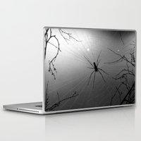 spider Laptop & iPad Skins featuring Spider by Gwlad Sas