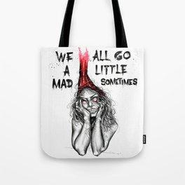 Mad inside Tote Bag