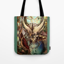 Even Bees Dance Tote Bag