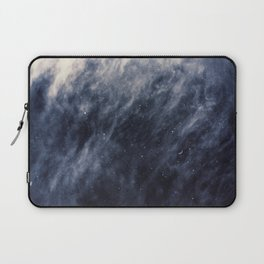 Blue Clouds, Blue Moon Laptop Sleeve