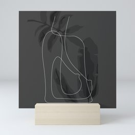 Tropical Nude Mini Art Print