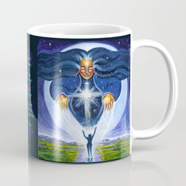 Pleiadian Star Goddess Coffee Mug