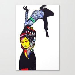 Flipped  Canvas Print